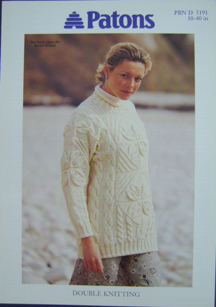 Patons Knitting Pattern 5191